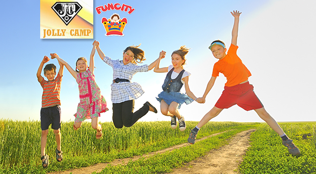 Denný letný denný Jolly Camp vo FunCity pre deti počas prázdnin - celodenný program, strava a výlety v cene