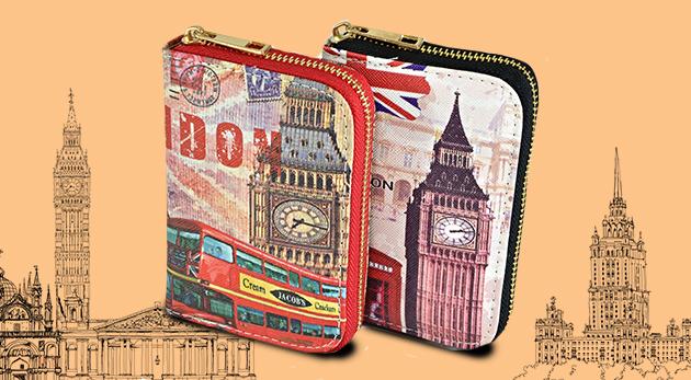 Farebné dámske peňaženky s viacerými priehradkami a kapsičkami - 6 druhov