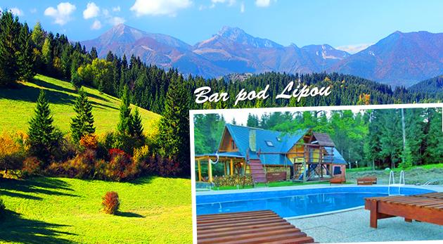 Orava - komfortné apartmány s bazénom v nádhernom lesnom prostredí pre 5 osôb