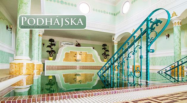 Ten pravý relax v Drevenici - Zrube v Podhájskej blízko termálneho kúpaliska s jedinečnou slanou vodou