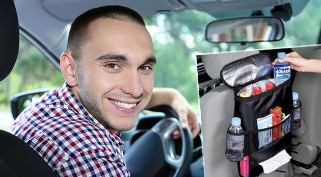 Termo taška alebo organizér na sedadlo auta