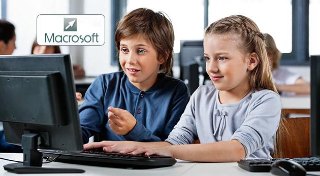 Denný počítačový tábor pre deti - grafika, webdizajn i programovanie