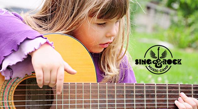 Detský letný hudobný tábor Sing And Rock