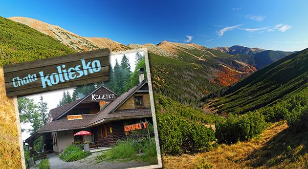 Oddych a turistika v Nízkych Tatrách - Chata Koliesko pod Chopkom
