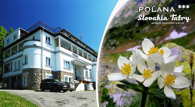 Leto vo Vysokých Tatrách v Penzióne Poľana*** na 3, 4 alebo 5 dní s polpenziou a ďalšími bonusmi