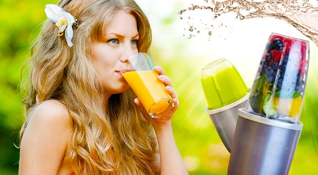 Výkonný smoothie mixér na prípravu osviežujúcich a zdravých nápojov