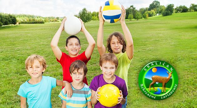 Športovo-rekreačný tábor na 10 dní pre deti v Zlatníckej doline