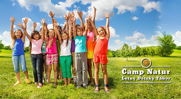Camp Natur - Letný tábor pre všetkých od 7 do 17 rokov na 11 dní