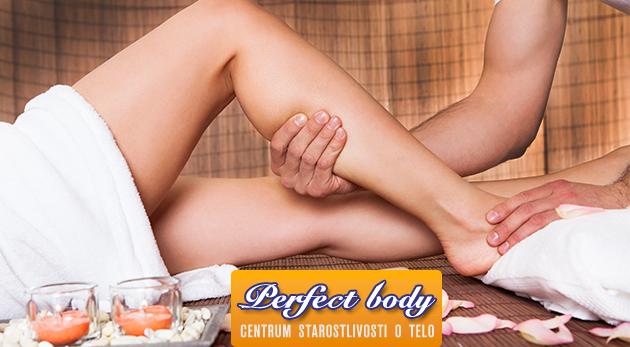 60 minútová ručná masáž proti celulitíde v štúdiu Perfect Body v Bratislave
