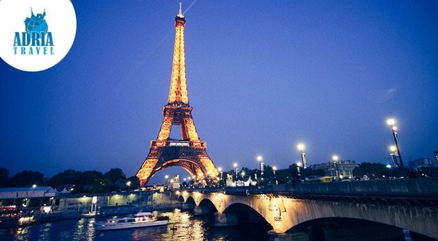 Zájazd na 5 dní do Paríža a Disneylandu s CK Adria Travel s dopravou, hotelovým ubytovaním a raňajkami