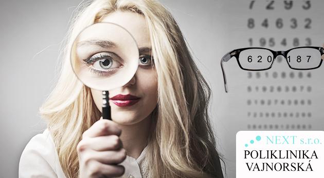 a4a05f09f Kompletné odborné očné vyšetrenie najmodernejšími prístrojmi v Poliklinike  Vajnorská