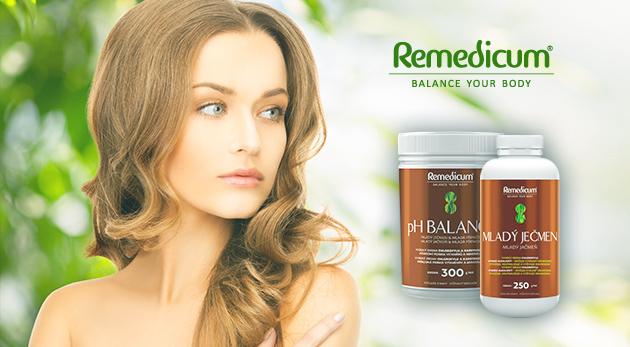 Vitamínová bomba - Mladý zelený jačmeň a ph Balance mladý jačmeň a mladá pšenica