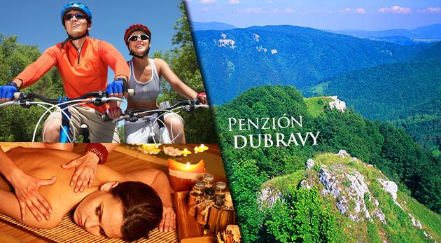 Letné leňošenie v Penzióne Dubravy v Strážovských vrchoch