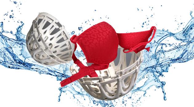 Ochranný košík na pranie podprseniek a jemného prádla