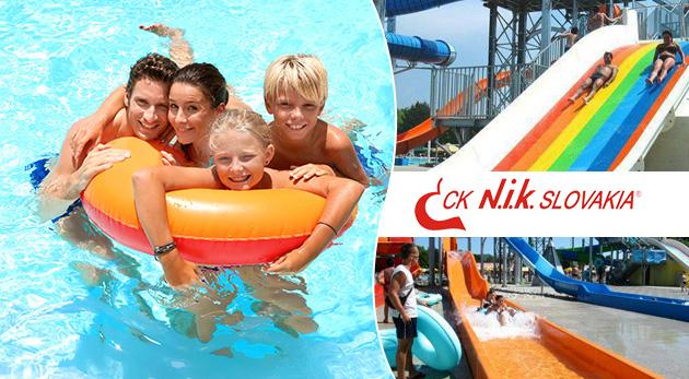 Dovolenka v areáli termálneho kúpaliska Vadaš v Štúrove na 4 alebo 5 dní so vstupmi do bazénov