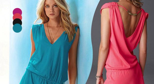 Letné šaty v 4 farbách  6b0c9f6d8bd