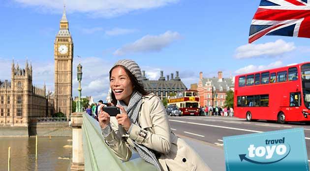 Letecký 4 dňový zájazd do Anglicka - spoznajte Londýn, Stonehenge a Oxford s CK Toyo Travel