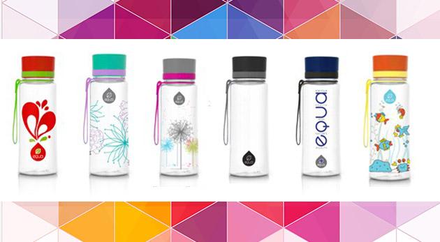 Dizajnová aj praktická EKO fľaša s rôznymi motívmi