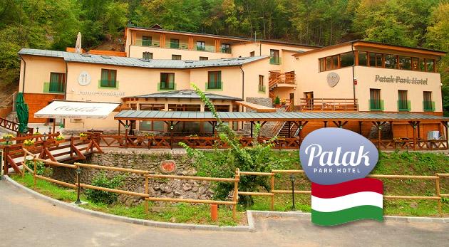 Letný oddych pre dvoch v maďarskom Hoteli Patak Park v malebnom Vyšehrade s polpenziou a wellness