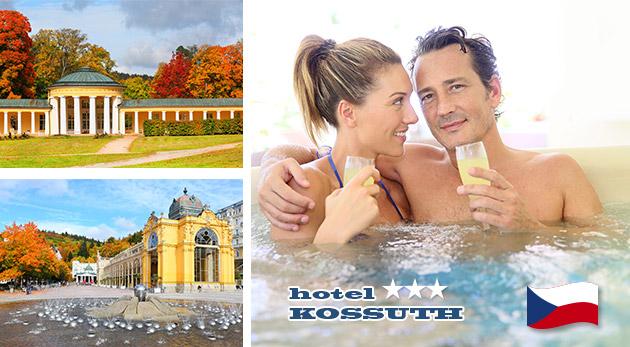 Relax v Mariánskych Lázňach v Hoteli Kossuth*** s polpenziou a procedúrami