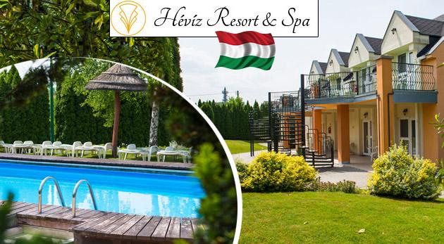Dni plné relaxu v maďarskom hoteli Hévíz Resort & SPA pri slávnych kúpeľoch s ALL INCLUSIVE a wellness