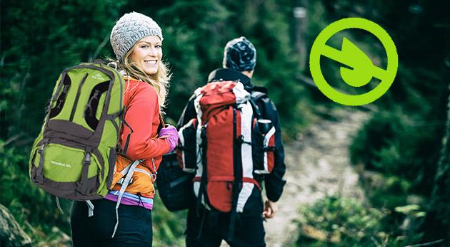 Kvalitný expedičný batoh Snow Wind alebo outdoorový batoh