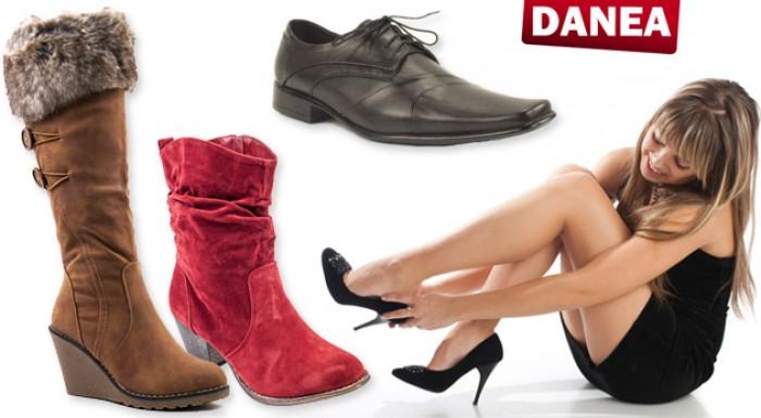 Poukážka na nákup obuvi značky Danea - celá jesenná kolekcia za extra výhodné ceny