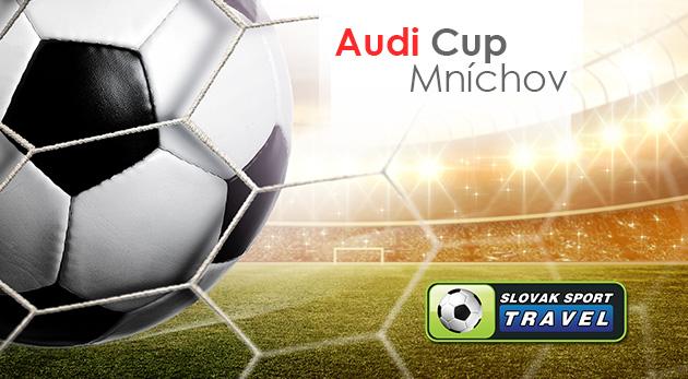 Zájazd na špičkový futbalový turnaj AUDI CUP v Mníchove - uvidíte mužstvá ako Real Madrid či Bayern Mníchov