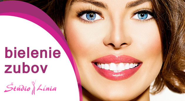Šetrné bielenie zubov bez peroxidu v Štúdiu Línia v Bratislave