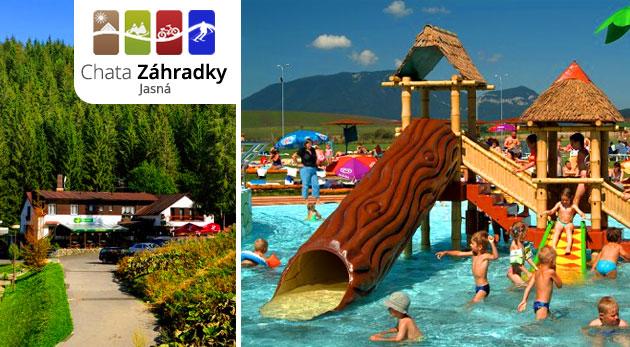 Vysokohorský pobyt v Chate Záhradky priamo v stredisku Jasná