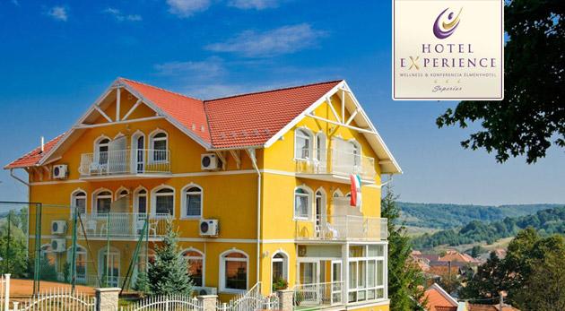 Wellness pobyt v maďarskom Hoteli Experience*** v Bukových horách s polpenziou