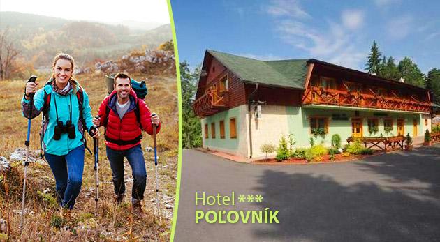 Oddych v Hoteli Poľovník***  pre 2 osoby v prostredí Národného parku Nízke Tatry