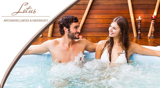 Súkromné wellness v relaxačnom prostredí Lotus aromawellness & massages v Ružinove