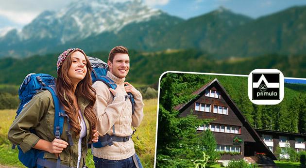 Očarujúca príroda Západných Tatier pre dvoch na 3 dni v Hoteli Primula s platnosťou až do konca októbra