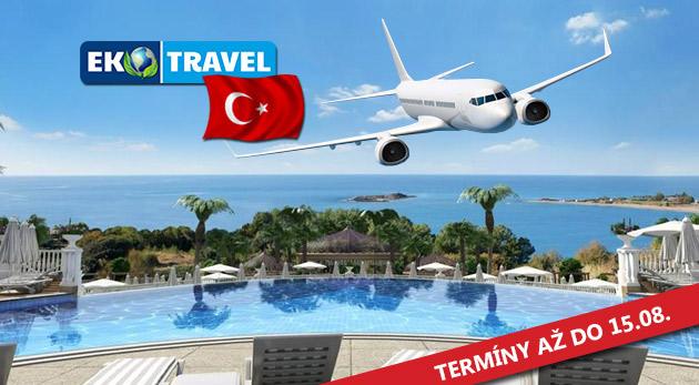 8-dňový letecký zájazd do luxusného hotela Litore Resort & SPA***** na Tureckej riviére s Ultra All Inclusive