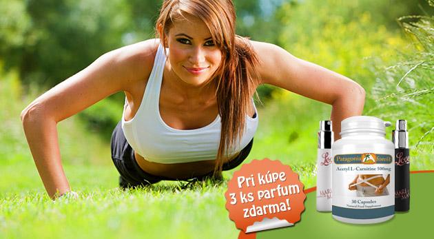 L-karnitín - účinný spaľovač tukov pre krásne telo
