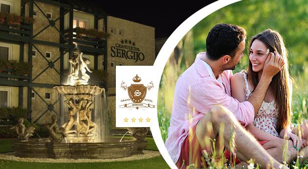 Oddych v letných Piešťanoch plný romantiky a wellness v elegantnom Grand Boutique Hoteli Sergijo****