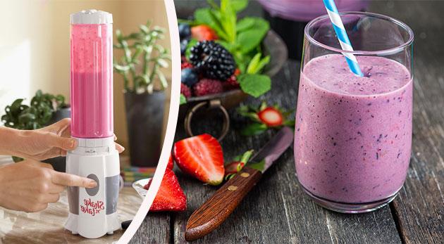Smoothie mixér pre rýchlu a ľahkú prípravu ovocných či zeleninových nápojov