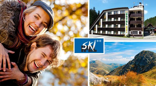 Dni plné aktívneho oddychu v Hoteli Ski v Demänovskej doline pre dvoch s polpenziou