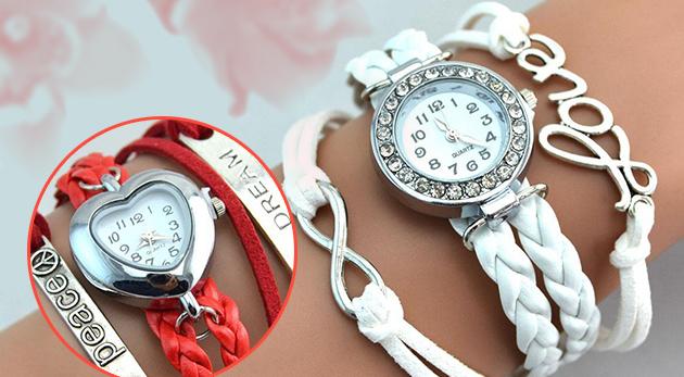 Dámske náramkové hodinky v aktuálnom VINTAGE štýle a251aa3aec2
