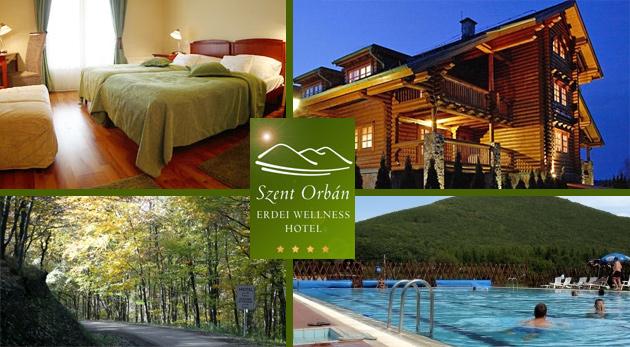 Okúzľujúce 3 dni v Szent Orbán Erdei Wellness Hoteli**** v maďarskom Národnom parku Duna-Ipoly