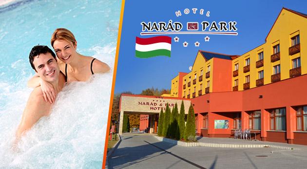 Wellness oddych v maďarskom Hoteli Narád Park**** v nádhernom prírodnom prostredí pohoria Matra
