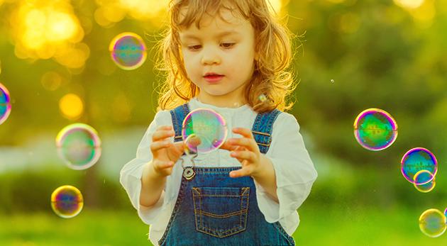 Dotykové bubliny, ktoré neprasknú - skvelá zábava nielen pre deti