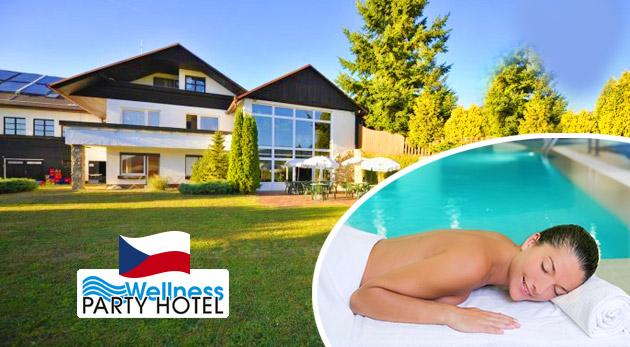 Dovolenka plná zábavy a relaxu vo Wellness Party Hoteli**** pri Zlíne s voľným vstupom do wellness