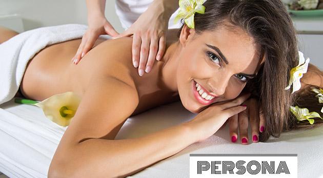 Blahodarná klasická, relaxačná alebo olejová celotelová masáž v salóne Persona