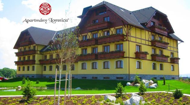 Letný oddych pre štyroch v priestranných a luxusných Apartmánoch Lomnica**** vo Vysokých Tatrách