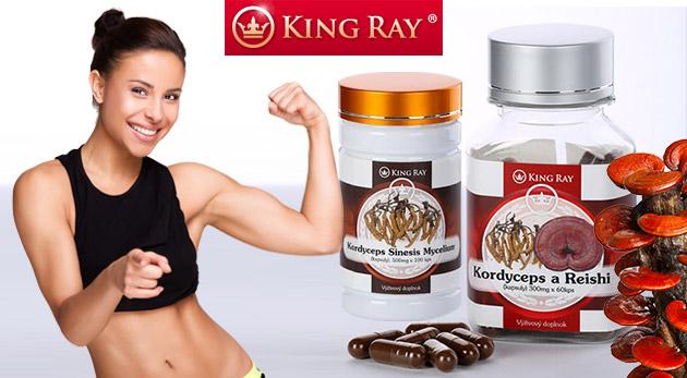 Výživový doplnok KINGRAY® Cordyceps Sinesis Mycelium čistý fermentovaný (100 kapsúl, 500 mg)