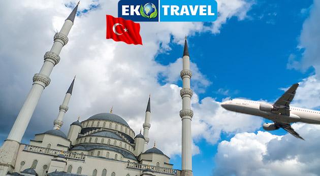 8-dňový poznávací letecký zájazd do historických miest Turecka