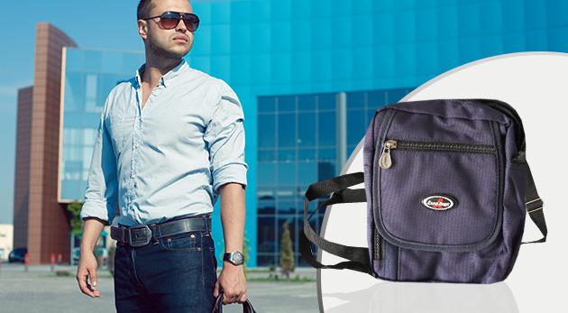 Praktická taška s popruhom a so 7 priehradkami v piatich farbách