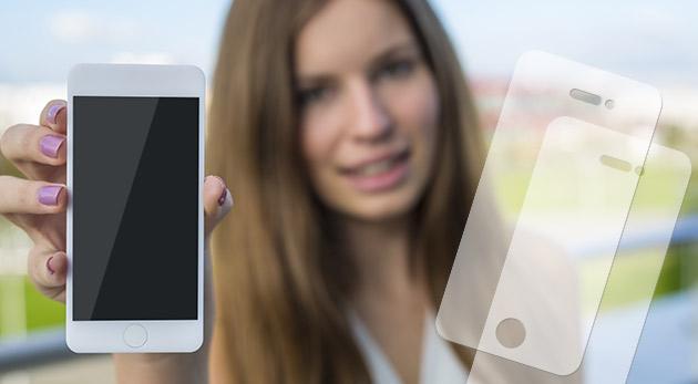 Priehľadné ochranné fólie pre všetky typy Apple iPhone